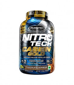 Nitro Tech Casein Gold 1.13 kg - Muscletech