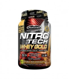Nitro-Tech 100% Whey Gold 1 kg Muscletech