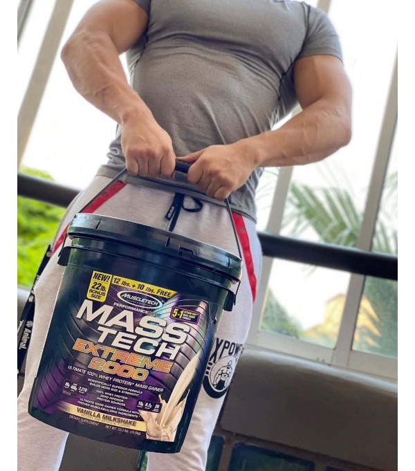 Mass Tech Extreme 2000 10 Kg - Msucletech  - Gainer