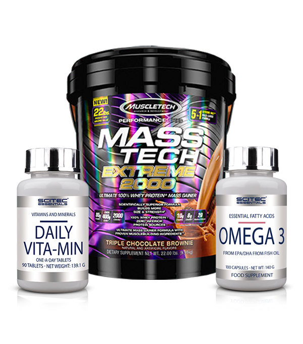 MASS TECH 10KG OMEGA VITMAIN