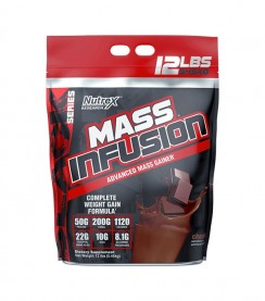Mass infusion Gainer NUTREX 12lb