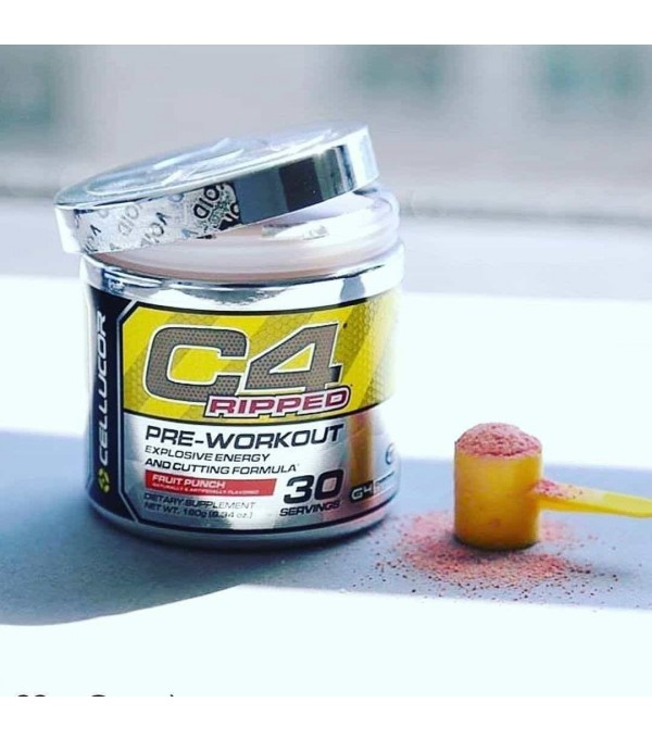 Preworkout C4 Ripped Cellucor