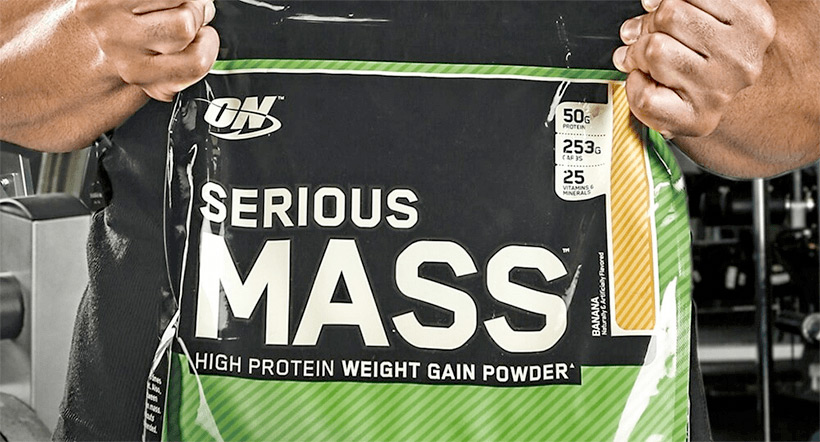 سيرياس ماس Serious Mass Optimum Nutrition